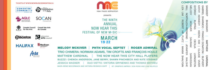 Photo for New Music Edmonton Now Hear This Festival 2020 Cancelled