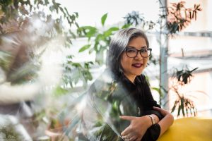 Interviewer photo Suzette Chan.